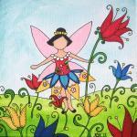 Spring Tulip Fairy Original Waterco..
