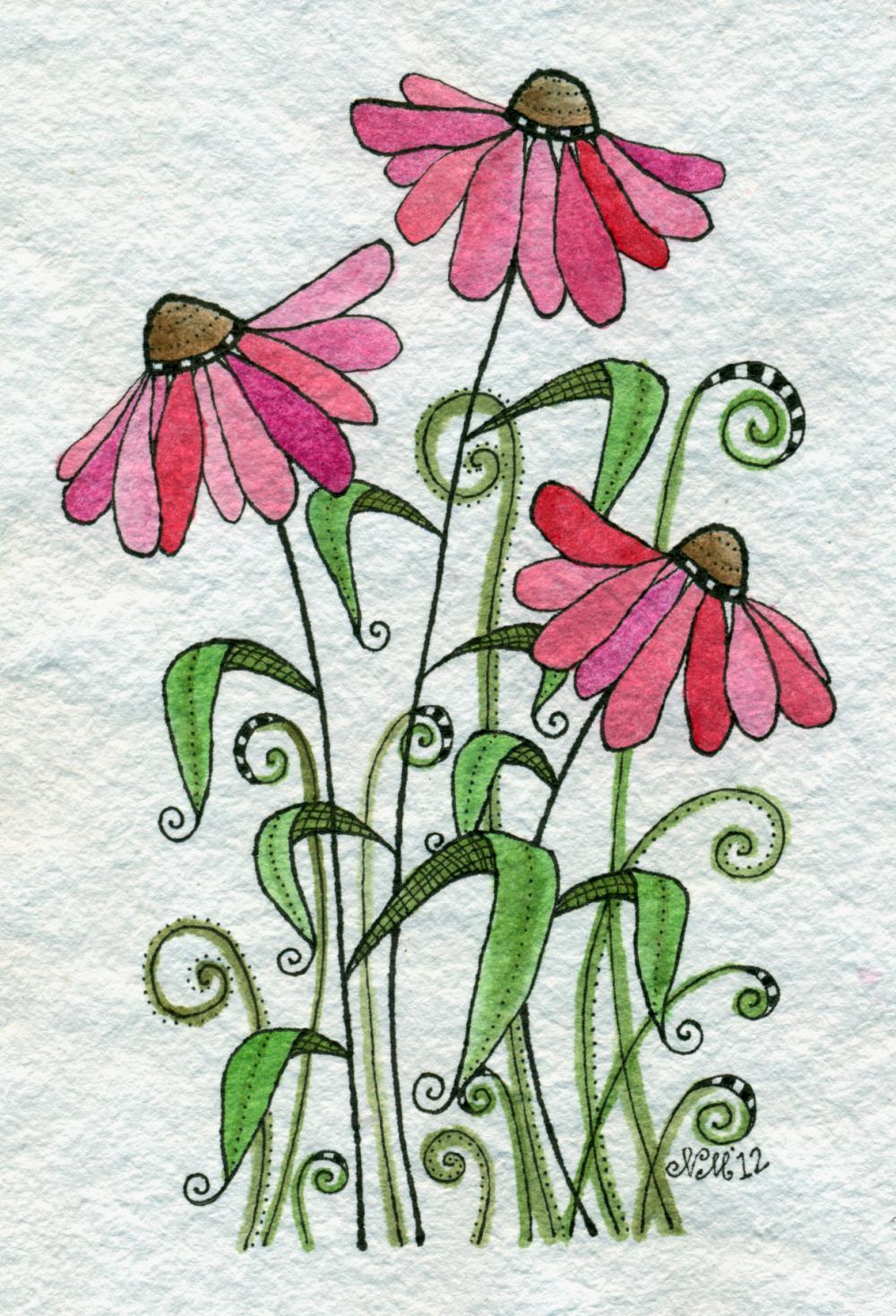 Valentine Sprinkles Original Watercolor Painting